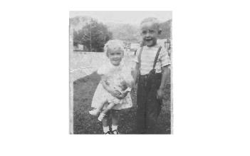 Mike and Sister Katy