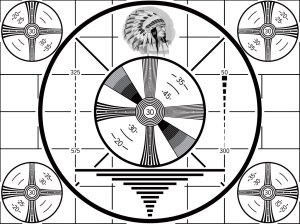 The Test Pattern - first thing in the morning and the last thing at night.