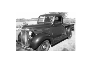 40 chevy 4 speed pickup