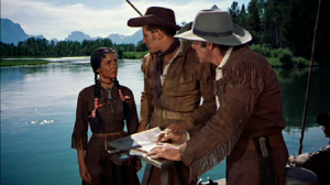 Scene from the movie The Far Horizon's