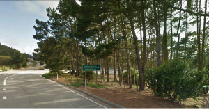 The entrance to 17 Mile Drive