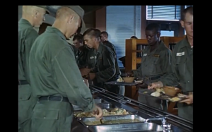 Army Mess Hall - discovering an abudance