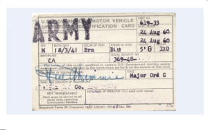 Military License required