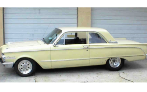 A new family member - a 1963 Mercury Comet