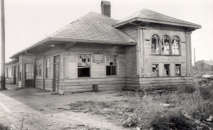 Old Train Station Frederick Oklahoma closed in 1978