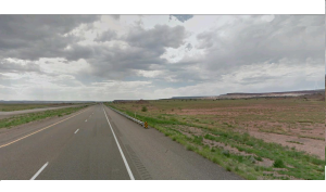 The high plains of New Mexico