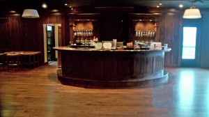 The bar at the exclusive Sportsman Country Club
