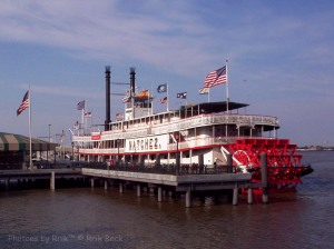 The Natchez on the Mississippi
