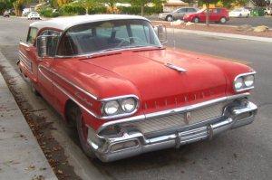 Helen's 1958 Oldsmobile Fiesta wagon.