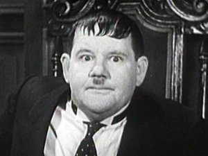 Bill Hurst a Oliver Hardy look-a-like