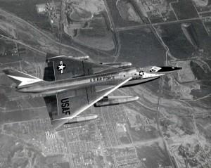 B-58 Husler bombarding Oklahoma City