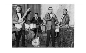 The Untouchables, four musicians - nine instruments