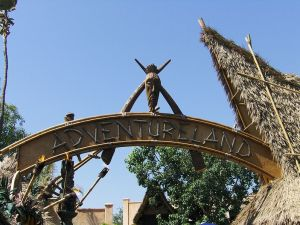 An adventure - where else but Adventureland