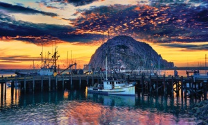 Spending the night at Morro Bay