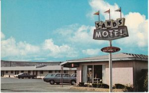 The Sands Motel on old Route 66 in Grants New Mexico