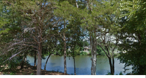 Bob and Pat's backyard access to Twin Lakes