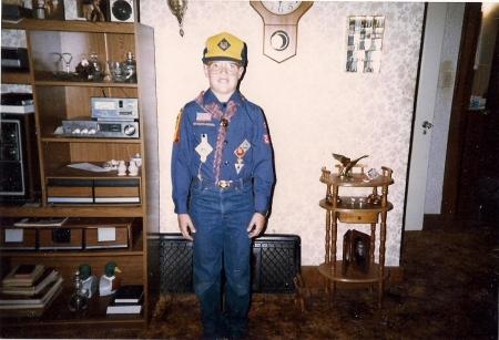 Robert in Uniform