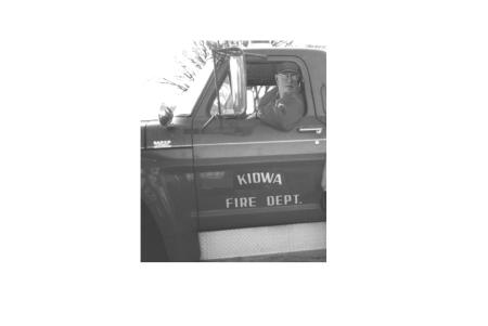 Roger Robinson Kiowa Fire Chief
