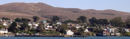 "Bodega Bay - location of Alfred Hitchcocks ""The Birds"""