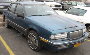 Jan's 87 Buick Skylark - a new ride to Anthony