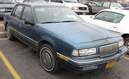 Jan's 87 Buick Skylark - a new ride to Anthony