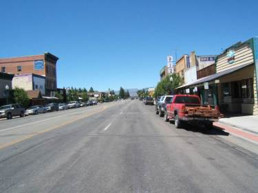 Main Street - Highway 50 in Gunnison