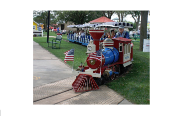Hutchinson Kansas State Fair train