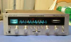 Gary's premire model 2010 Marantz receiver and amplifier.