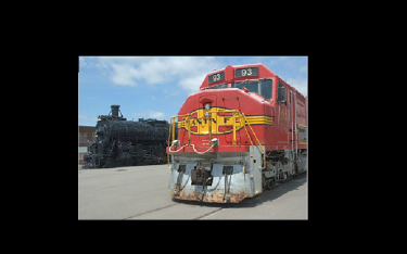 Locomotives at the Great Plains Transportation Museum - Wichita