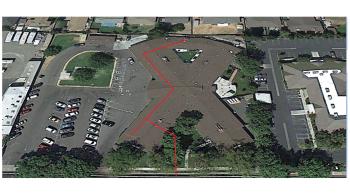 X shaped Colony Park