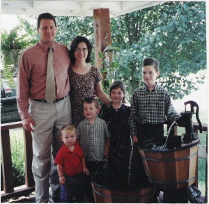 The Winesburg family - Randy, Donna and the Grandchildren