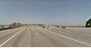 13 lane approach to the Bay Bridge