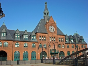 Ellis Island Terminal sometimes noted as the Communipaw Terminal