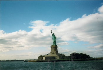 Approaching Lady Liberty