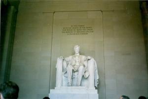 Lincoln still presiding