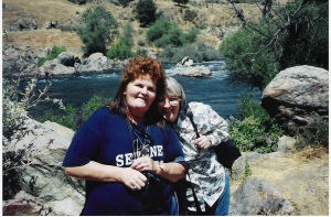 Rhoda and Fran