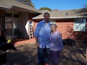 Rob and Grandmother Willson