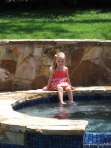 hollyann - pool side