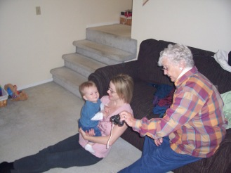 Brennan and Great Grandmother Willson