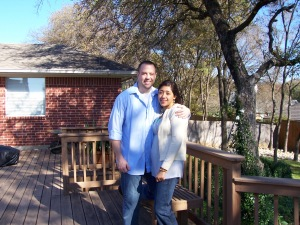 The first stop - Rob and Nancy Ft. Worth Home